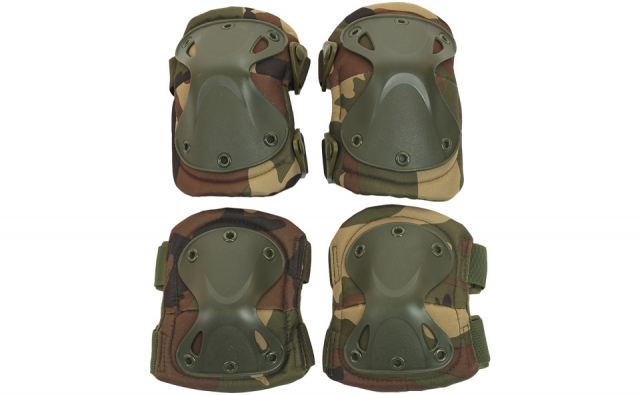 Защита шеи Gen X Global Paintball Neck Protector - Camo